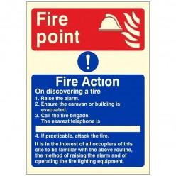 Warning Very Hot Water Sign