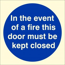 In The Event Of  fire This...