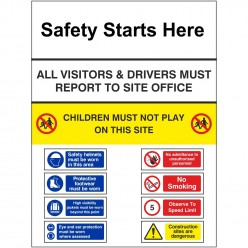 Site Enterance Sign