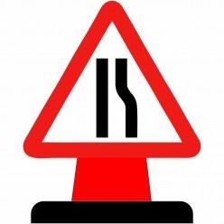 Road Narrow To The Right...