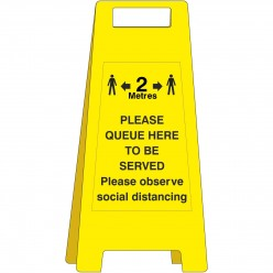 Please Queue Here To Be...