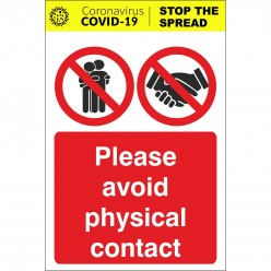 Please Avoid Physical...