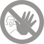 Glass Safety Signs